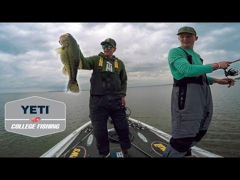 College Fishing Tournament Second Chances!! (Lake Texoma Bass Fishing)