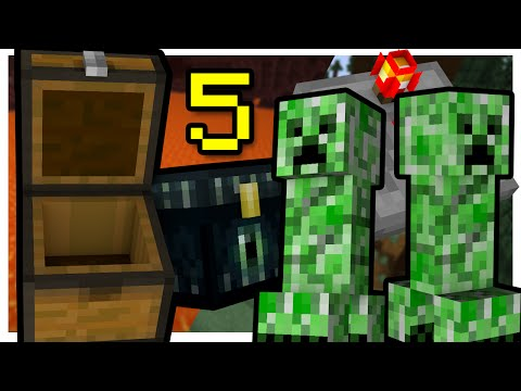 ✔Minecraft - Tutorial: 5 Ways to Make Traps against a Pro