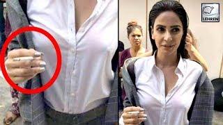 After Mahira Khan, Hindi Medium Actress Saba Qamar Spotted Smoking   लहरें गपशप