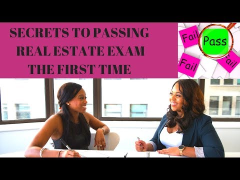 How to Pass the Real Estate License Exam | How to Get Your Real Estate License | Real Estate Test