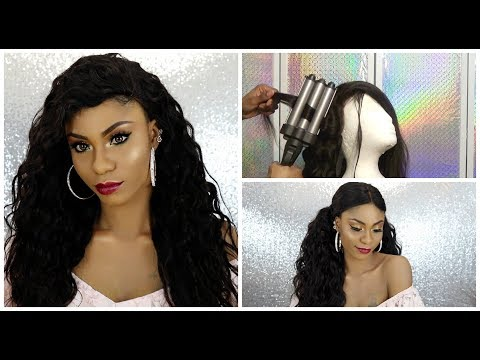 How TO : Soft Beach wave Using 3-Barrel Jumbo wave Iron +Updated Review + Styling my Julia Hair