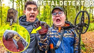 Finder Gammelt Tysk Ur Med Metaldetektor!