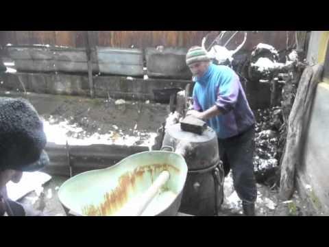 Georgian Village Life - how to make chacha