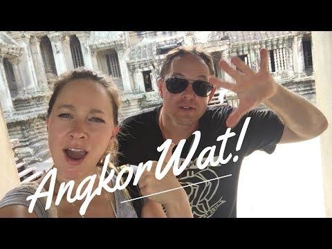 ANGKOR WAT! - EXPLORE THE TEMPLE - Travel Vlog