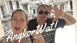 ANGKOR WAT! - EXPLORE THE TEMPLE - Travel Vlog