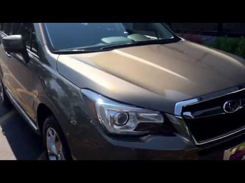 2017 Forester Touring model features