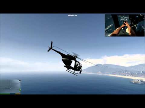 How do pilot controls helicopter?