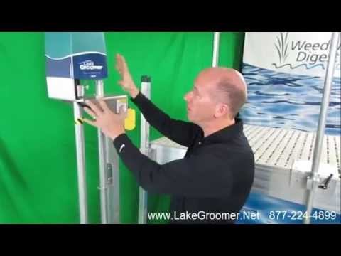LAKE WEED REMOVAL system and muck removal