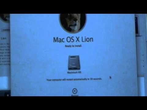Installing Mac OS X Lion 10.7