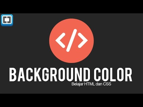 HTML & CSS Tutorial : Background Color/Image