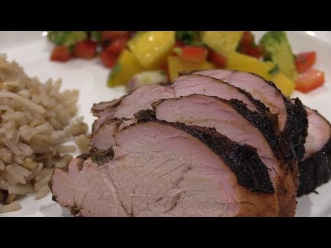 Jamaican Jerk Bbq Pork Tenderloin Recipe