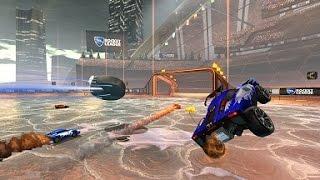 Rocket League: Snowday Side Jump Goal