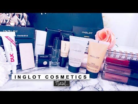 INGLOT Cosmetics Haul ♡ Stefy Puglisevich