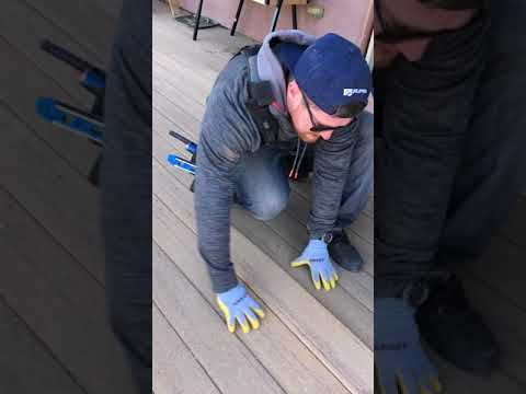 Why you need spacing on composite decking