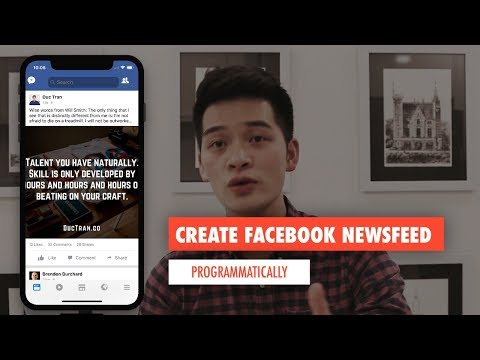FACEBOOK NEWSFEED PT 2: UILABEL, UIIMAGEVIEW, UITEXTVIEW AND COLLECTION VIEW IN CODE