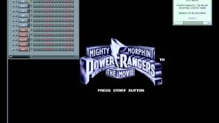 Mighty Morphin' Power Rangers: The Movie -14- Escaping (snes/sfc