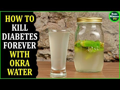 How To Kill Diabetes Forever with Okra Water - Diabetes Treatment