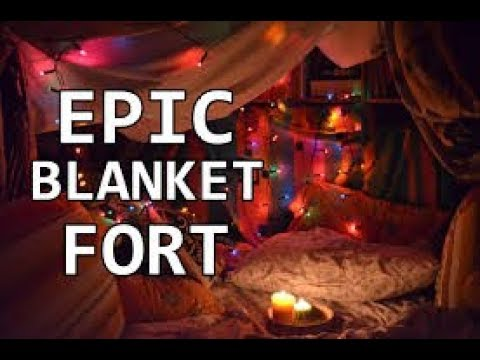 HOW TO BUILD AN EPIC PILLOW/BLANKET FORT!!
