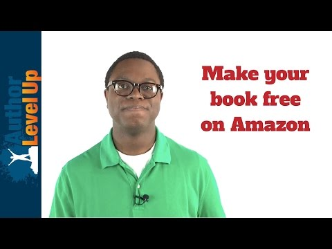 How to Make Your Book Free on Amazon