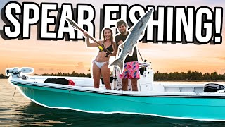 INSANE FIRST DAY IN THE KEYS! Spear Fishing, Free Diving & JET SKIS