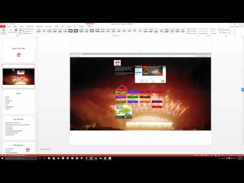 How to Insert a Screenshot into PowerPoint