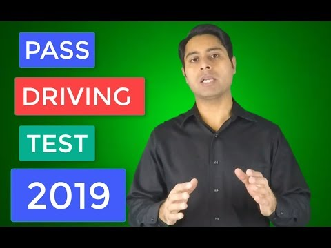 How To Pass Your Driving Test in 2018