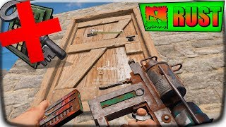 Rust БЕСШУМНЫЕ РЕЙДЫ ГВОЗДОМЕТОМ !!! САМЫЙ БЫСТРЫЙ ! САМЫЙ ТИХИЙ #2