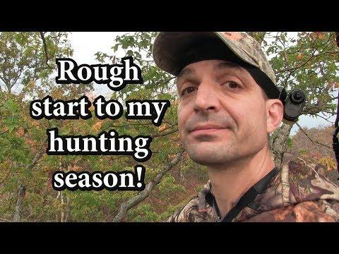 Rough Start to My 2017 Hunting Season