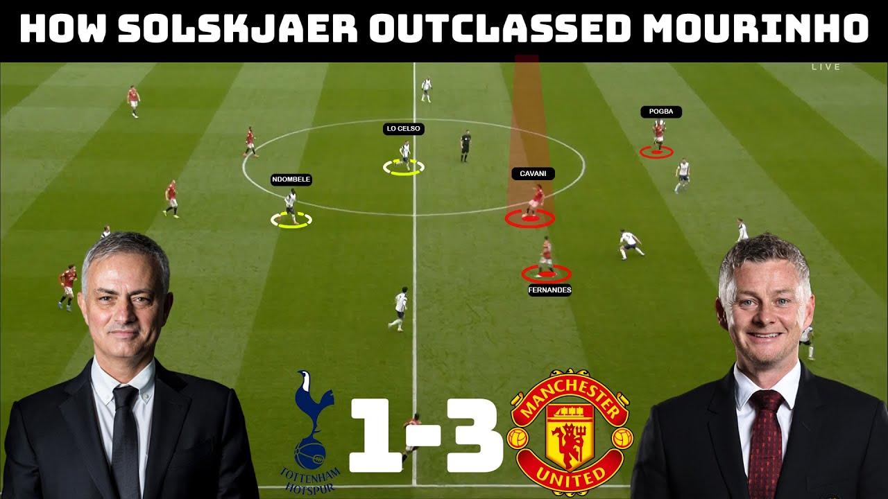 Tactical Analysis: Tottenham 1 – 3 Manchester United | How Solskjaer Dominated Mourinho |