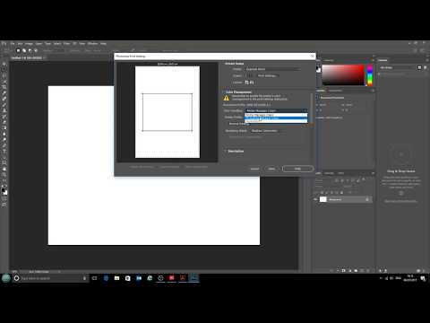 Using ICC printer profiles with Adobe Photoshop CC