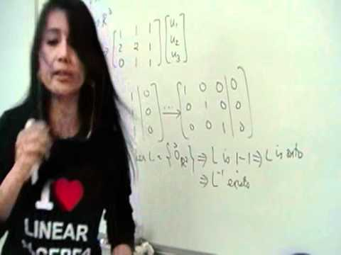Finding the Inverse of a Linear Transformation