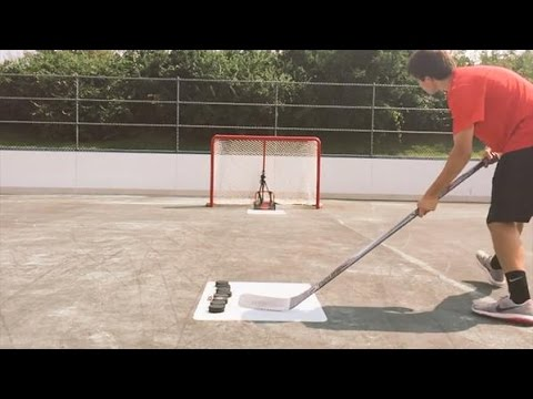 The Classic Hockey Shooting Video