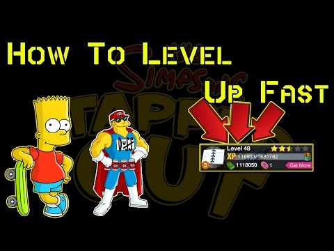 TSTO How To Level Up Fast (TSTO How To Tutorial)