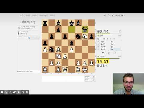 Novice Attempts to Climb Chess Rating Ladder - Episode 1