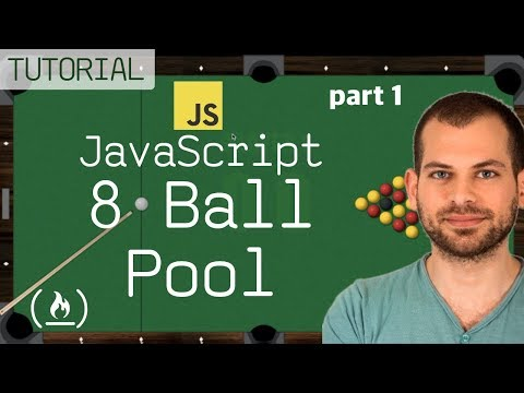 JavaScript + HTML5 GameDev Tutorial: Build your own 8-Ball Pool game from scratch