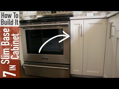 DIY 7in Slim Base Cabinet Carcass (Frameless)