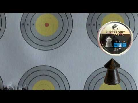 .22 caliber pellet accuracy test