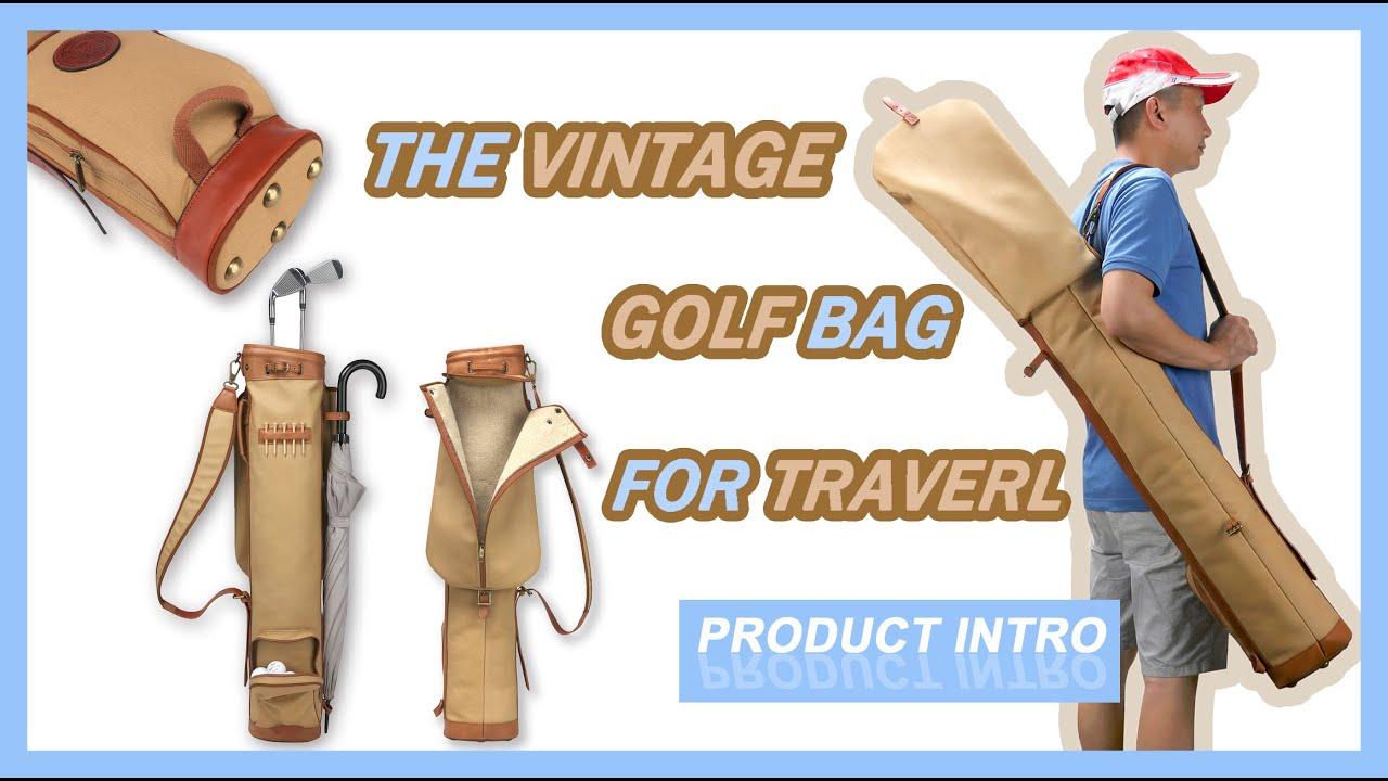 Tourbon|Golf Bag Carrier Vintage
