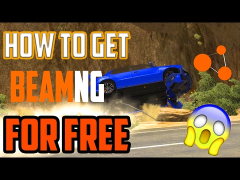 HOW TO DOWNLOAD BEAMNG DRIVE FOR FREE! MASSIVE DESTRUCTION GAME!