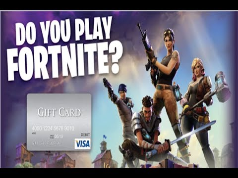 DO YOU PLAY FORTNITE? Tell us and receive a £150 VISA gift card!
