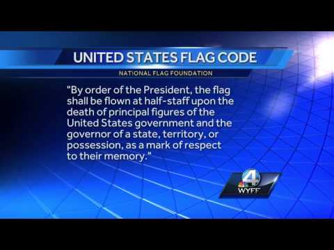 President Obama orders White House flags to fly half-staff to honor Marines killed