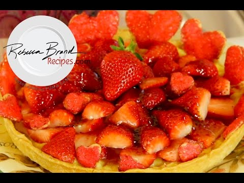 How to Make a Strawberry Custard Tart - Recipe