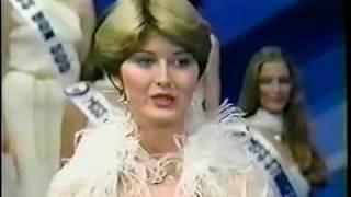 Miss Canada 1978. - Final Walk, Crowning Moment -