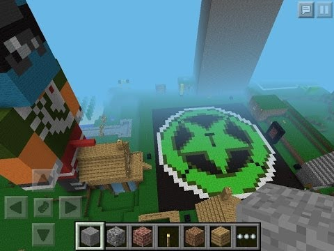 Omnifrost Map Update- Achievement City In Minecraft PE 1.6!