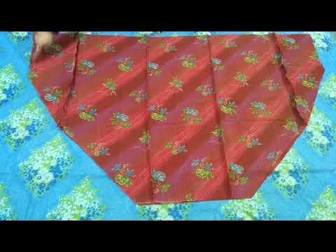 Semi patiyala salwar cutting & stitching full tutorial/Easy method