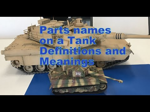 Part names and fun facts about Tanks