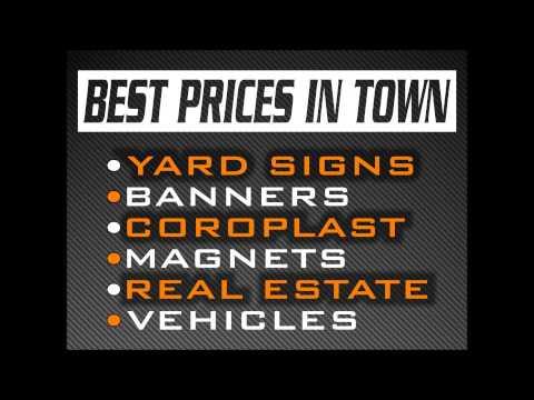 Profile Signs Yard Signs Edmond OK 405 286 0863 Edmond Ok Yard Signs Profile Signs