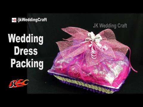 wedding dress packing |  How to pack Wedding Dress | JK Wedding Craft 120