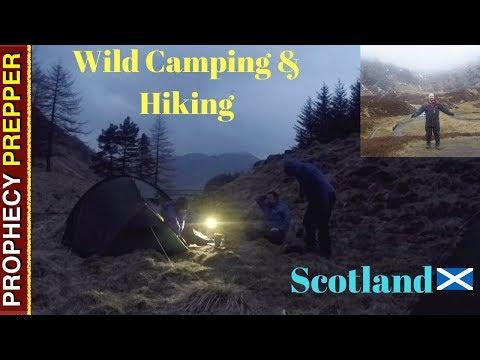 Wild Camping UK Scotland Angus Glens Scottish Highlands Glenn doll Cairngorms Hiking Corrie Fee