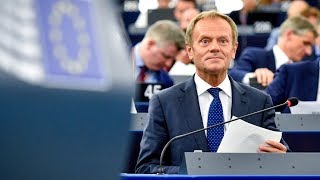 Parliament clashes with Tusk over EU top jobs